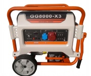 Бензиновый генератор E3 POWER GG8000-Х3 (7 кВт / 380В)